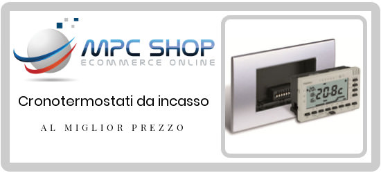 catalogo cronotermostati online su mpcshop.it