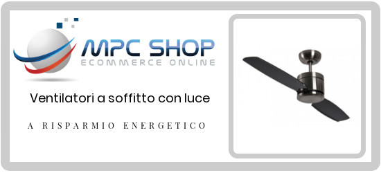 ventilatori con led linea turno