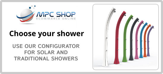 Choose the outdoor and indoor shower for the summer