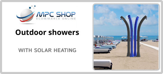 Buy now your solar powered garden shower at mpcshop.it Hurry, you
