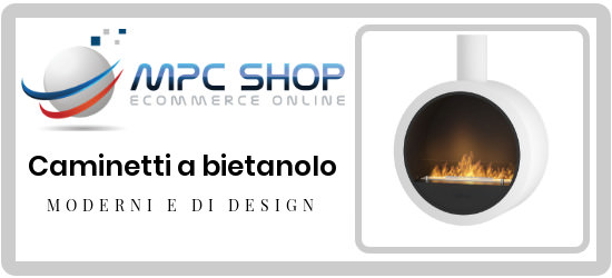 Bioethanol fireplaces at the best price in Italy B