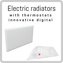 Smartly buy electric radiators with innovative digital thermostats