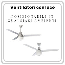 Our fan with light can be placed on any environmen