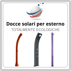 Do not miss the opportunity to buy at the best price a totally ecological outdoor solar shower, soon a few pieces