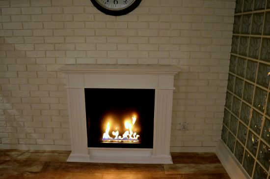 Sined Fire Traditional biofuel fireplace White is a product on offer at the best price