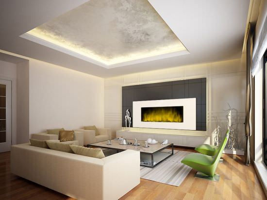 Chemin'Arte Wall mounted Fireplace White Loft XXL is a product on offer at the best price