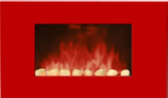 Chemin'Arte Electric Fireplace Red Line Color Style is a product on offer at the best price
