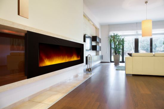 Chemin'Arte Modern WIFI wall fireplace Volcano 5XL is a product on offer at the best price