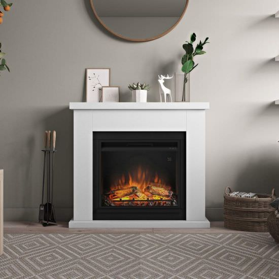 Tagu Complete white electric fireplace is a product on offer at the best price
