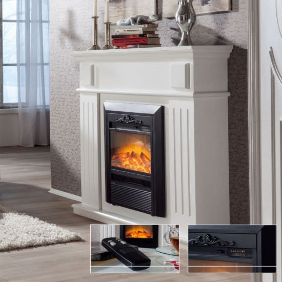 GLOW-FIRE Classic Led fireplace Helios White is a product on offer at the best price