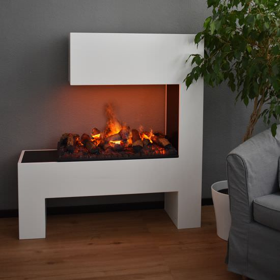 GLOW-FIRE Electric water fireplace Mozart White is a product on offer at the best price