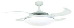 CEiling Fan with Retractable Blades Whit