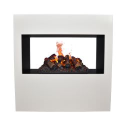 Goethe water steam fireplace