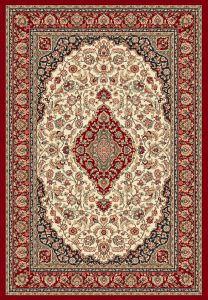 Tappeto da salotto a decori orientali ninfea rosso 160x230 - Tappeti damascati ...