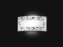 Black and White Glass Wall Lamp