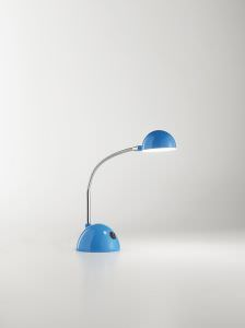 Desk lamp LED color Light blue