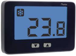 Thalos key nero termostato batteria ve719100 for Termostato ambiente vemer