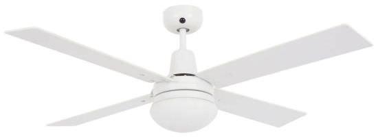 Ventilatore bianco con luce Beacon