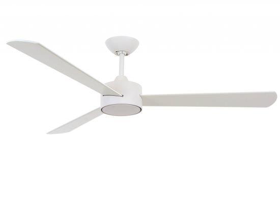 Ventilatore 3 Pale Bianco e Telecomando