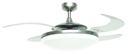 Fan and Design Ceiling Light Evo2 Endure