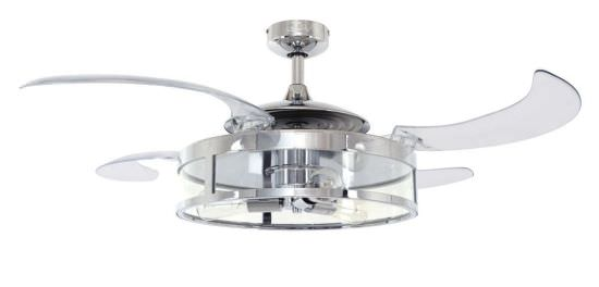 Ceiling Fan Light Fanaway Classic Nickel