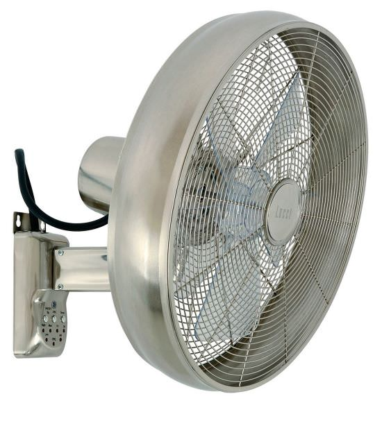 Wandventilator Breese 41 cm Chrom
