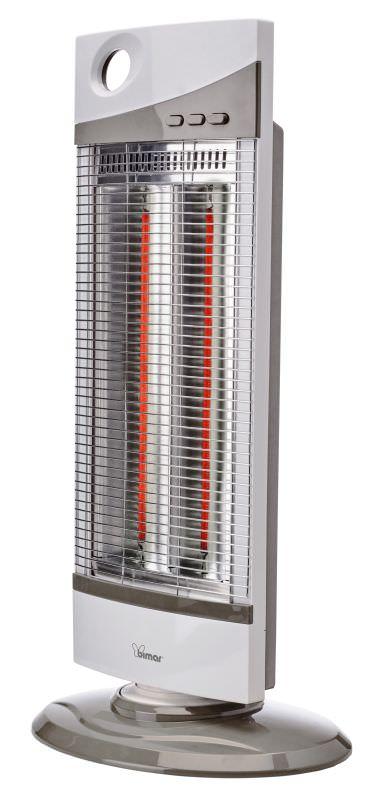 Stufa oscillante ad infrarossi 1000W