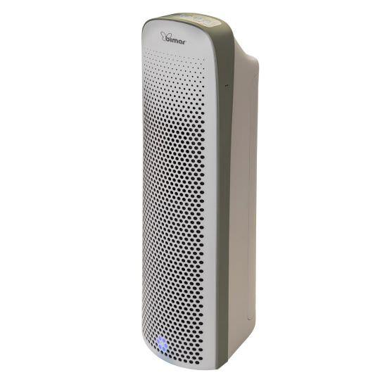 Purificatore aria 2 filtri e lampada UV