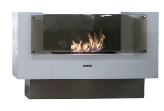 Modern Ethanol fireplace double sided