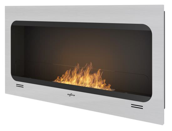Builtin bioethanol fireplace