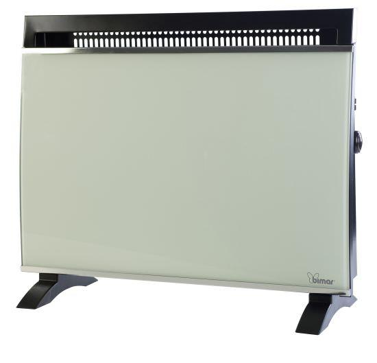 Termoconvettore 1500W con frontale vetro