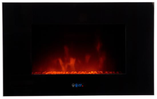 Electric wall mounted fireplace Volcano