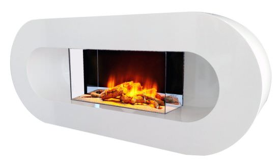 Economical electric fireplace