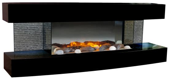 Chimenea electrica de pared Lounge