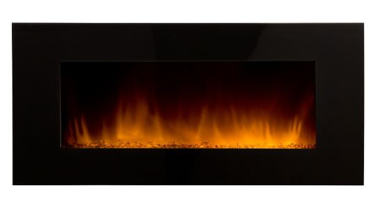 Electric Wall Fireplace Volcano XXL