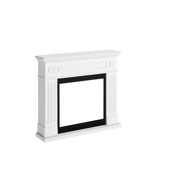 frame fireplace Bianco Puro model Larsen