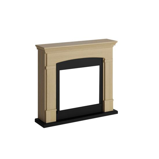 frame fireplace Oak natural model Helmi