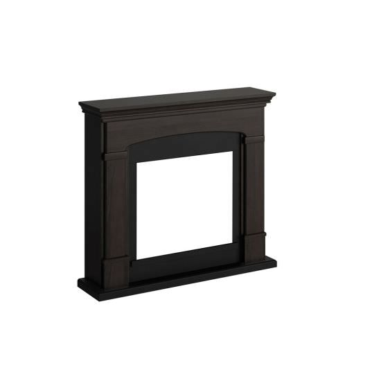 frame fireplace Wenge color Caffe model