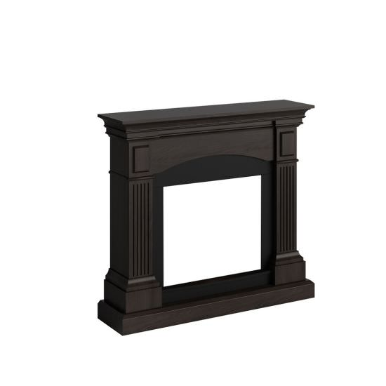 frame fireplace Magna Premium Walnut