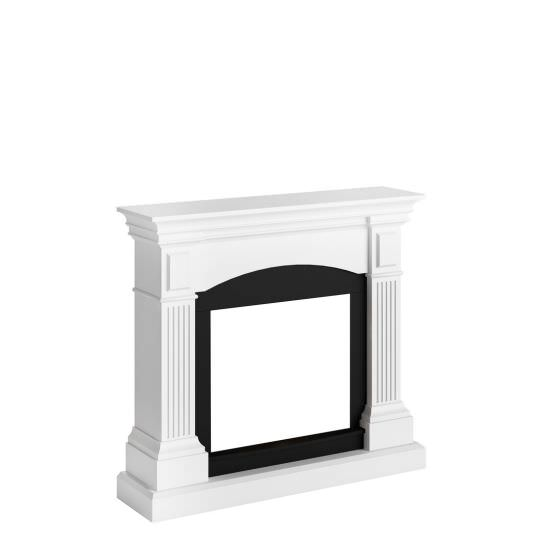 frame fireplace Bianco Puro Magna model