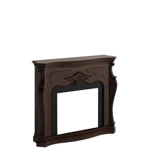 frame fireplace Royal Walnut model Gala