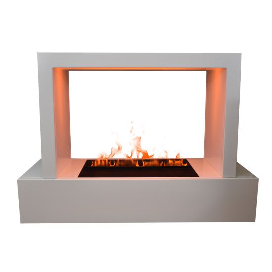 Humboldt 500 water steam fireplace