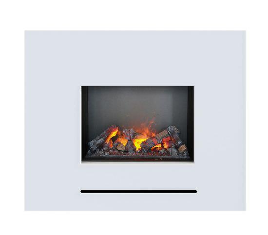 Caminetto a vapore riscaldante Lessing