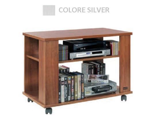 Tavolino per Televisore e HiFi Silver