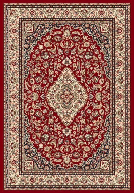Tappeto da salotto a decori orientali Ninfea Rosso 160x230