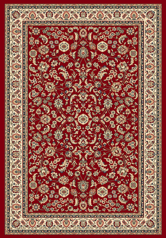 Tappeto orientale Ninfea Rosso 60x110 cm