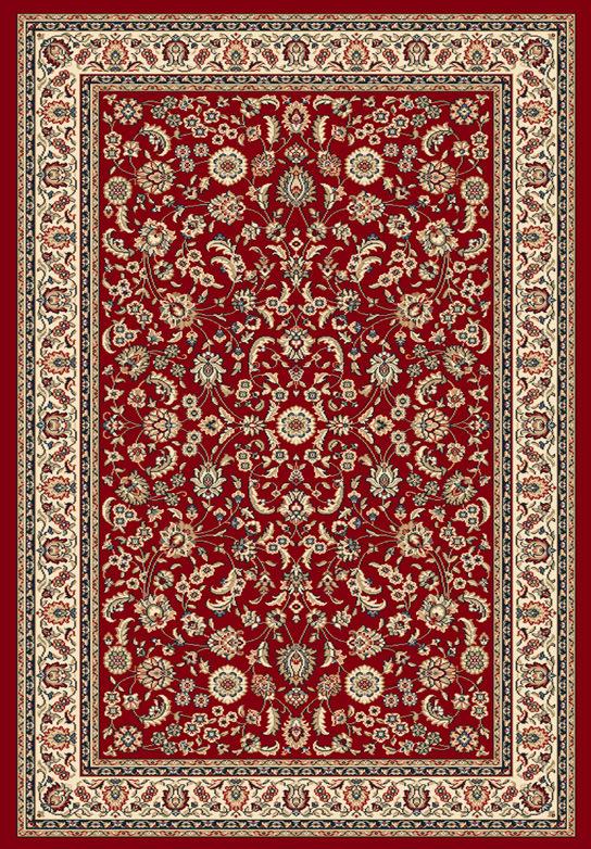 Tappeto orientale Ninfea Rosso 80x150 cm