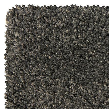 Tappeto morbido Brush Antracite 200x290