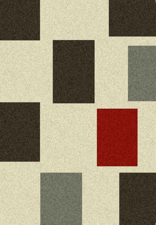 Tappeto moderno beige a quadri balta pablo in offerta promo for Quadri moderni minimalisti