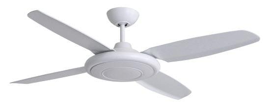 Ventilatore da soffitto Beret ABS Bianco